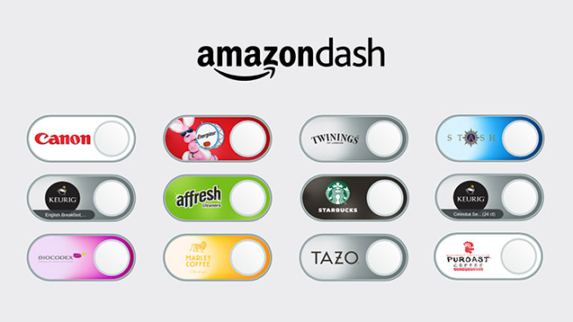 A few Amazon Dash buttons