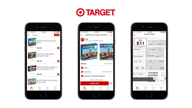 Target mobile app examples